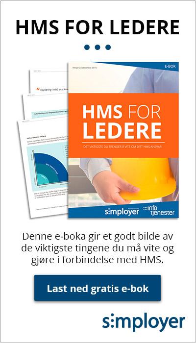 Last ned gratis e-bok: HMS for ledere