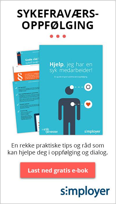 Last ned gratis e-bok: Hjelp jeg har en syk medarbeider