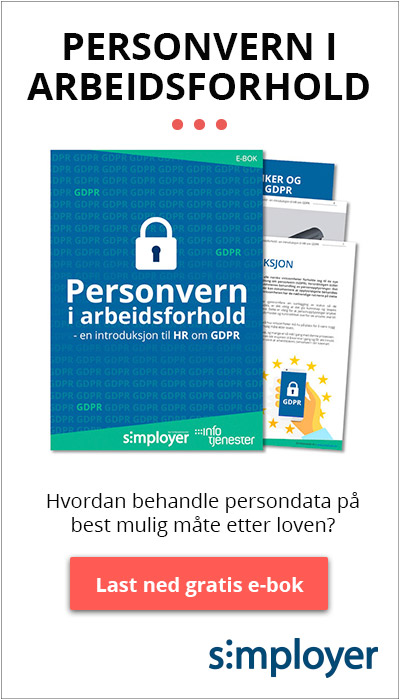 Last ned gratis: Personvern i arbeidsforhold