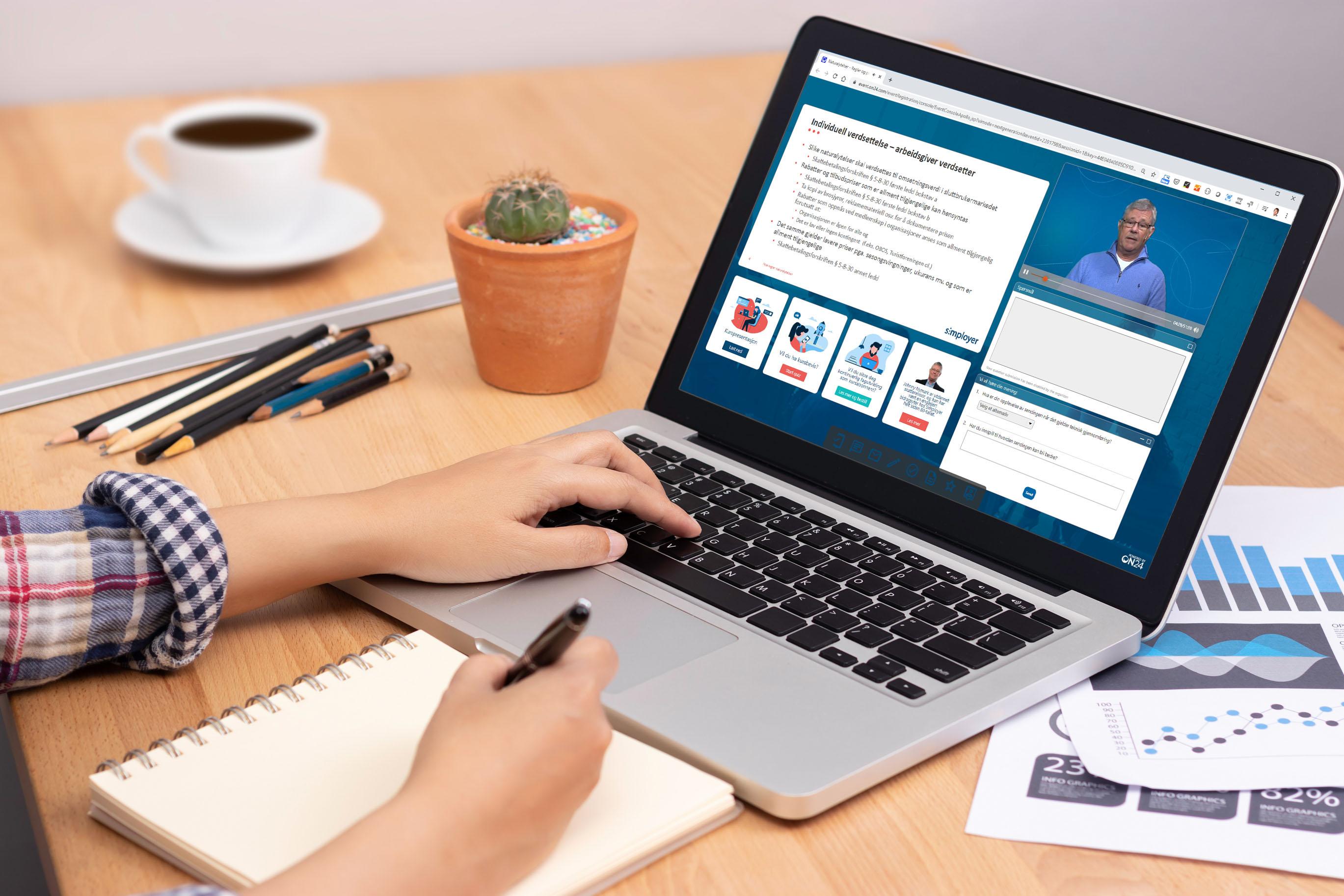 Koronakrisen: Digitale kurs forhindrer smitte og gir god læring