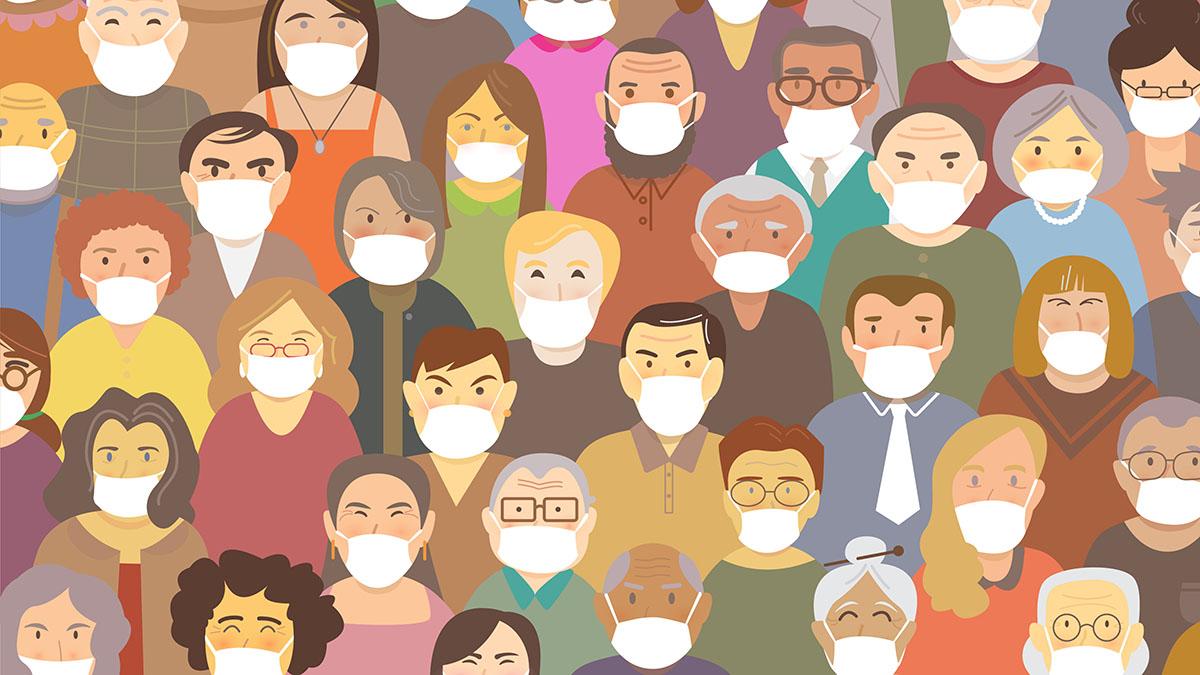 Kan arbeidsgiver pålegge ansatte å bruke munnbind?