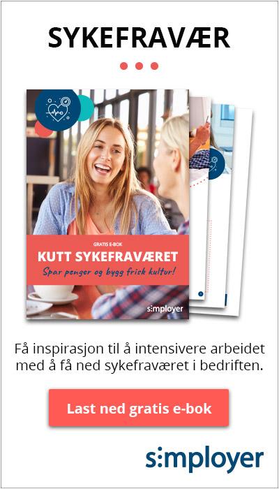 Last ned gratis e-bok: Ebok Kutt sykefraværet - spar penger og bygg frisk kultur